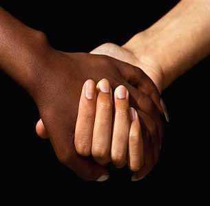 Resultado de imagen para parejas negra y blanca